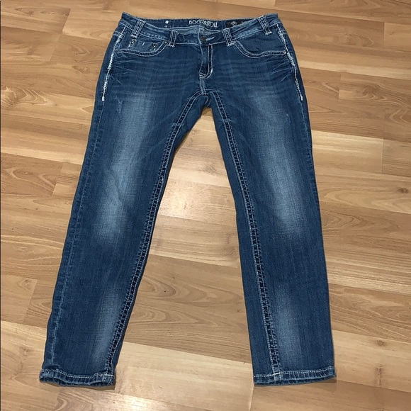 Rock & Roll Cowgirl Denim - Rock&Roll Cowgirl skinny jeans size 31X30